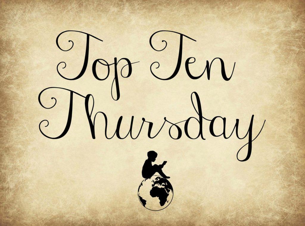 Top Ten Thursday ✯367✯ 10 Bücher, die du dieses Jahr auf jeden Fall noch lesen möchtest