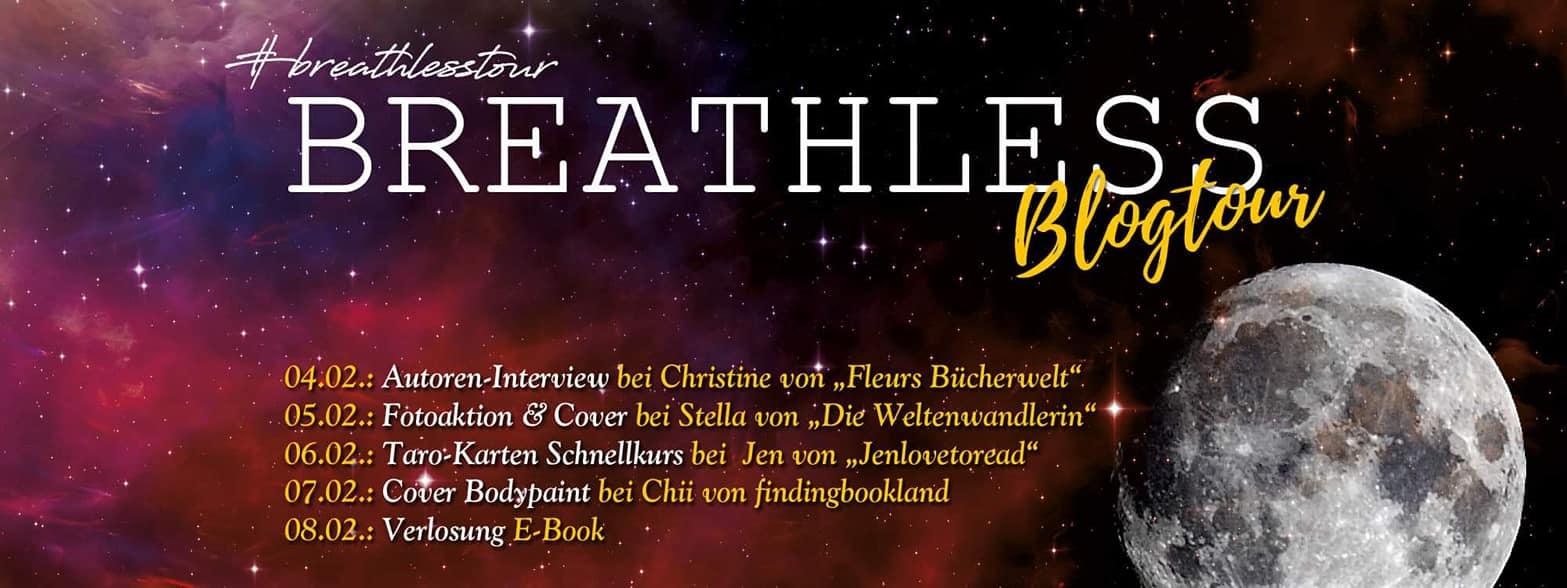 Breathless Blogtour – kleine Reise in die Vergangenheit