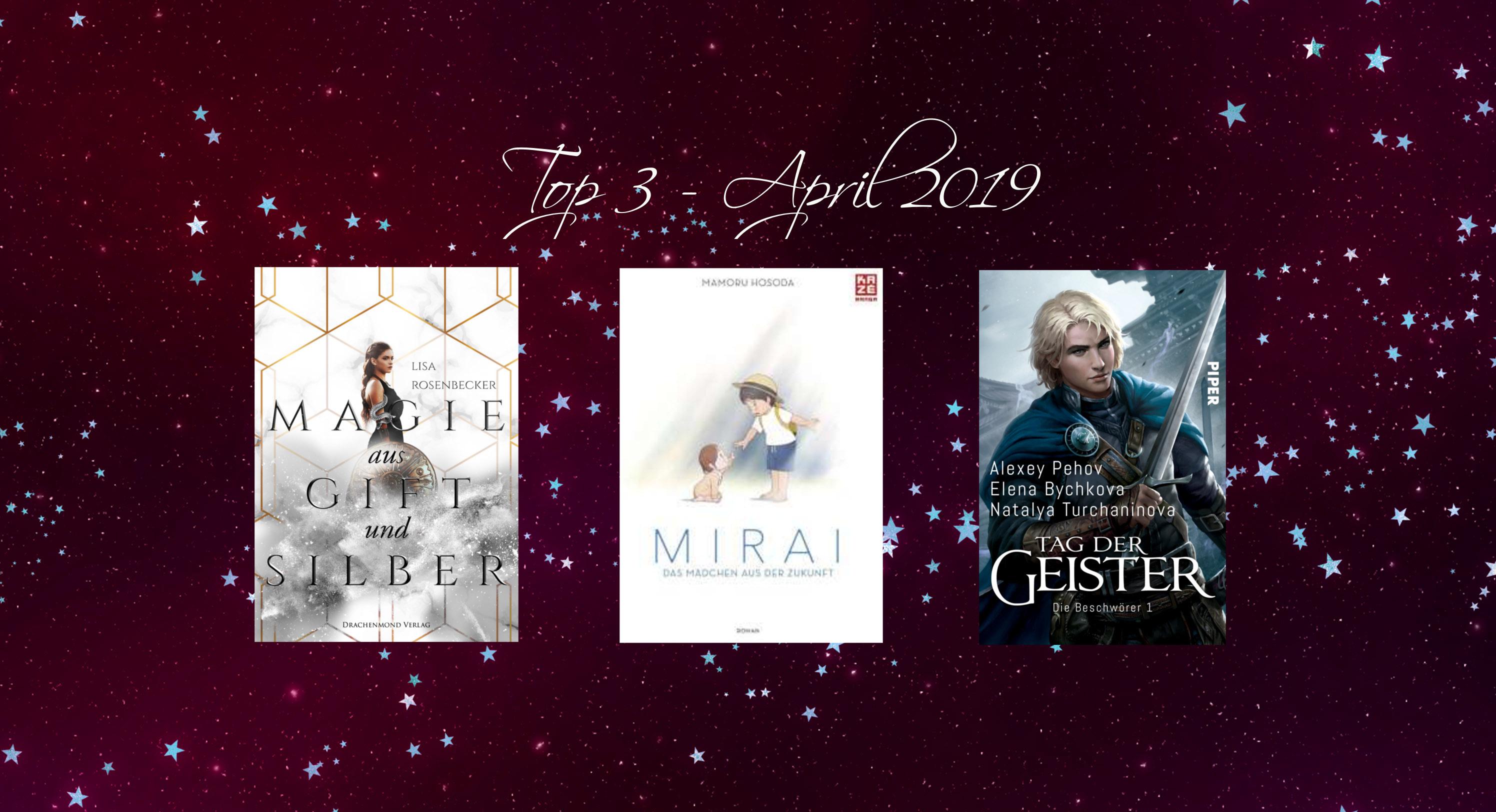 Top 3 Neuerscheinungen April 2019